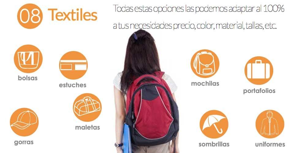 Articulos Promocionales Textiles