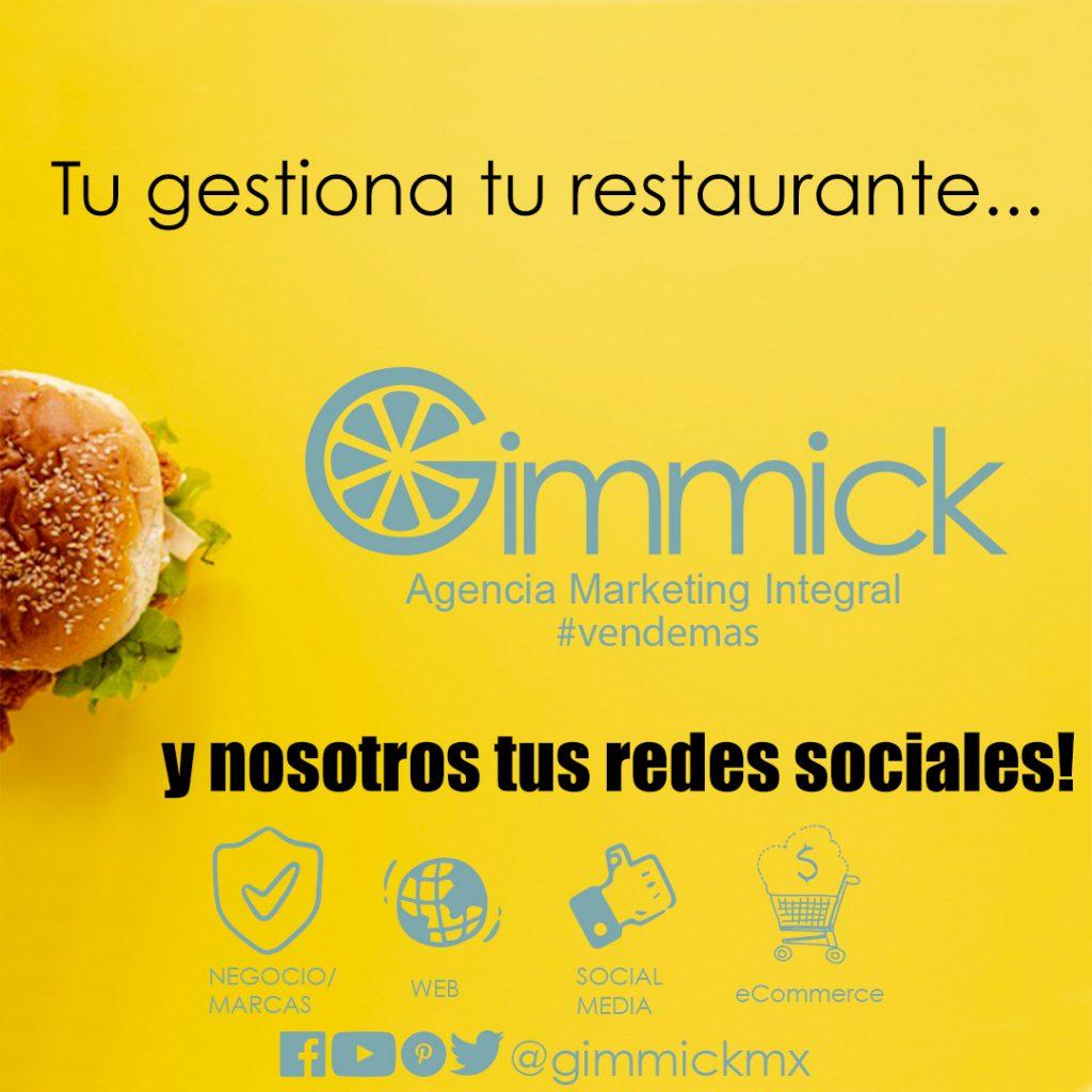 Gestion de Redes Sociales para Restaurantes