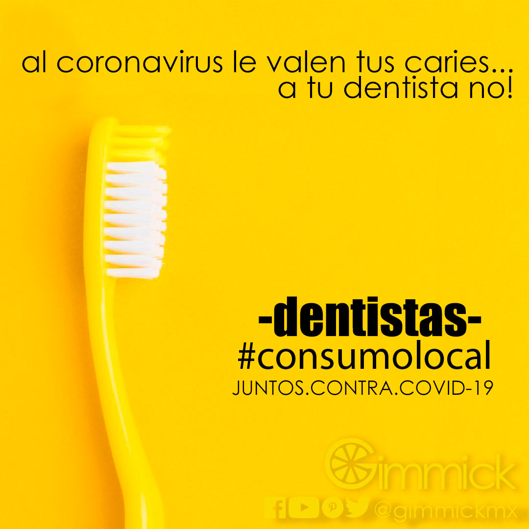 consumolocal dentistas VS coronavirus