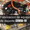 Medidas sanitarias fabricación de equipo de transporte COVID-19