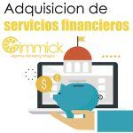 Adquisición de servicios financieros
