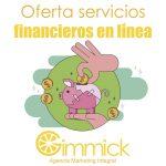 Oferta servicios financieros en línea