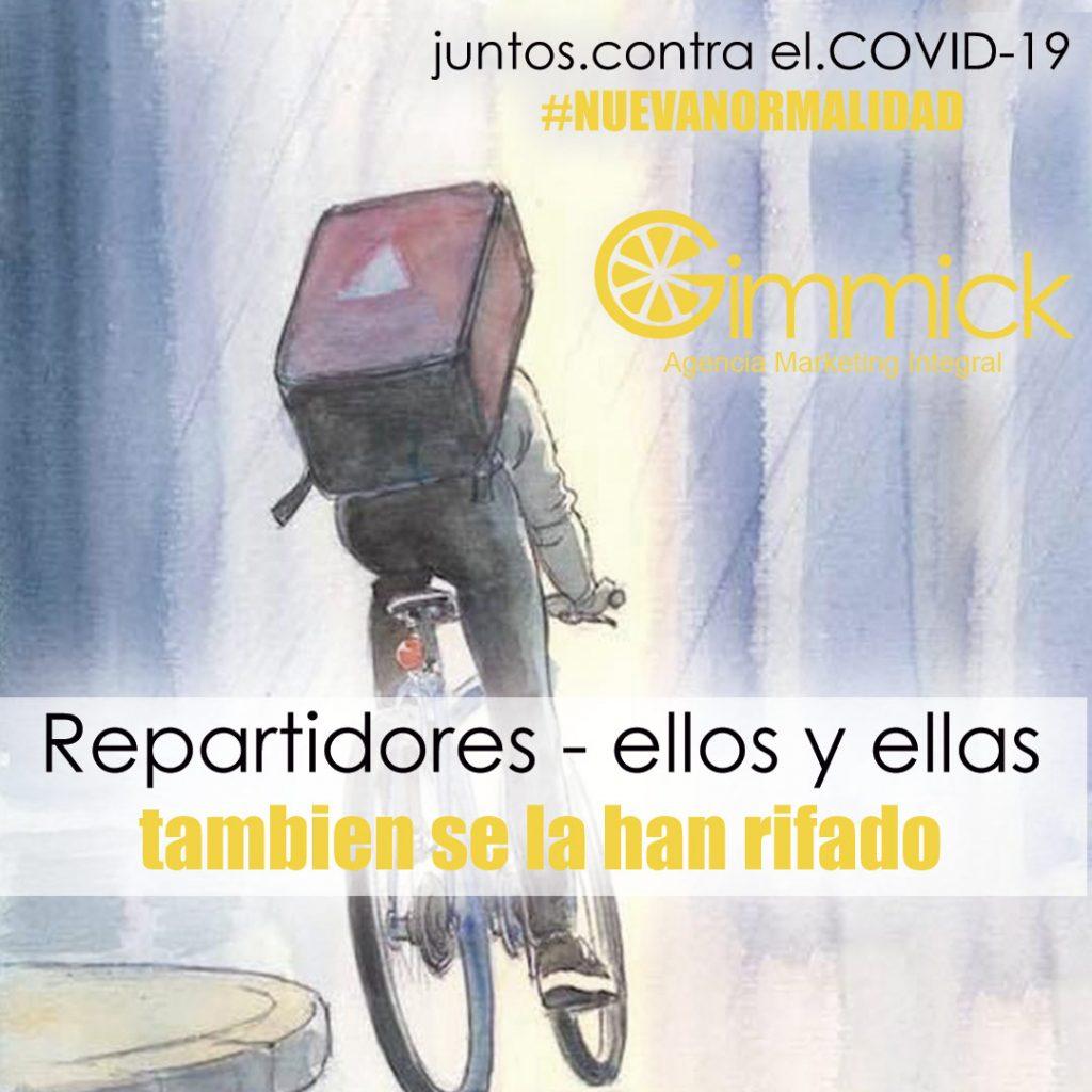 COVID-19 repartidores