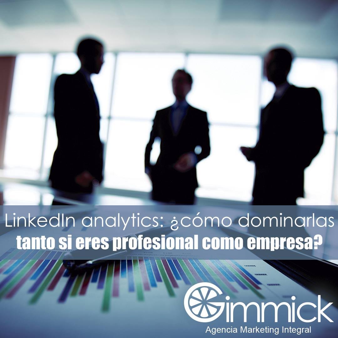 LinkedIn analytics: ¿cómo dominarlas tanto si eres profesional como empresa?