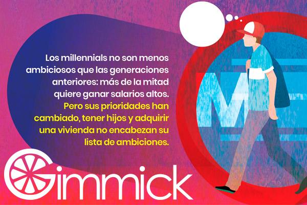 millennials prioridades y aspiraciones