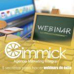 5 secretos para hacer webinars de éxito