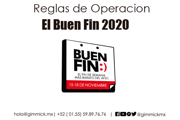 Reglas de operacion El Buen Fin 2020