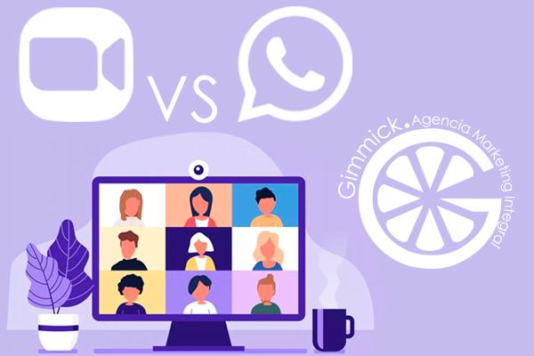 WhatsApp Web VS Zoom