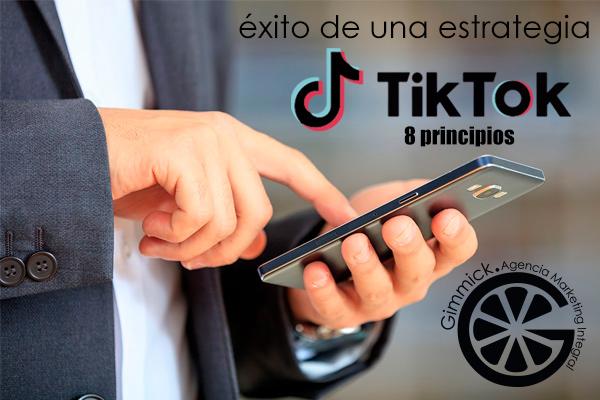 8 principios de TikTok