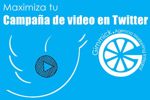 campaña de video en Twitter