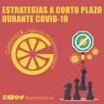 ESTRATEGIAS A CORTO PLAZO DURANTE COVID-19
