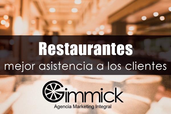 Restaurantes asistenia a clientes