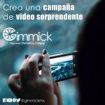 crea una campaña de video sorprendente