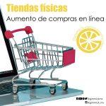 Las tiendas fisicas se pueden beceficiar del aumento en las compras en linea