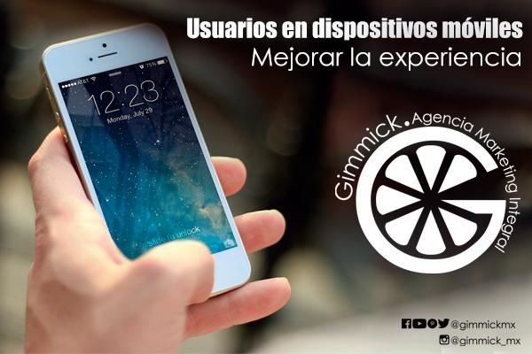 usuarios en dispositivos móviles