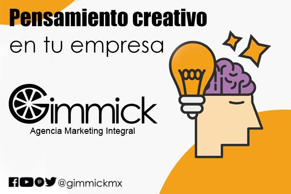 pensamiento creativo en tu empresa