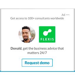 linkedin ads for a company