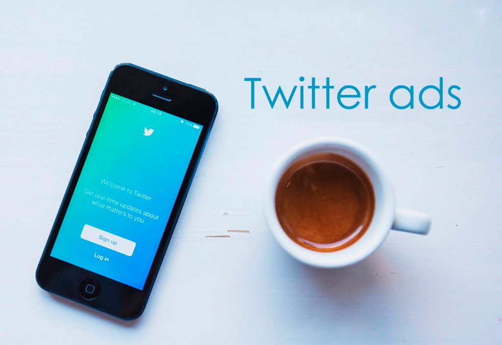 Gimmick Twitter ads