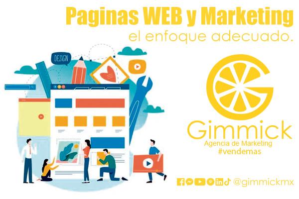 paginas web y marketing
